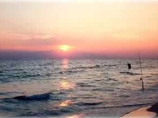Sun set and fishing!