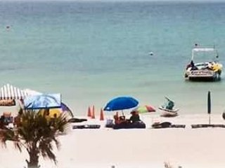 Activities on beach include jet skiing and parasailing!