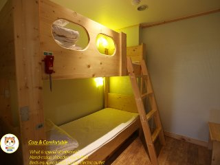 private-room for 2 people (HiKorea Hostel), Busan