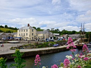 3 Waterwheel Apartments located in Charlestown, Cornwall, St Austell