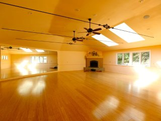 1200 sf Yoga & Dance Studio w/VIEW