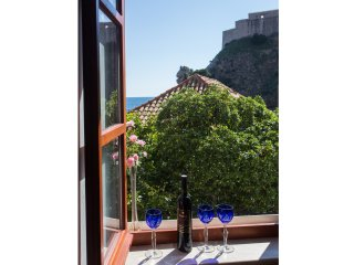 Rooms Lovrijenac -Twin or Double Room with Sea View