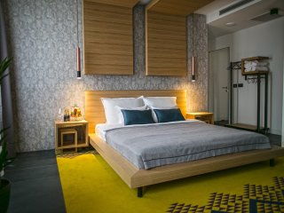 Rooms Lejletul- Superior Double Room with Square View (Kadr)