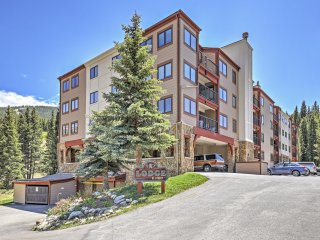 New Listing! Terrific 2BR Frisco Condo w/Wifi, Gas Fireplace & Access to Resort-Style Amenities - Incredible Ski-In/Ski-Out Location Steps from Copper Mountain!
