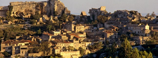 Awarded as one of the most beautiful villages in France, Les Baux.
