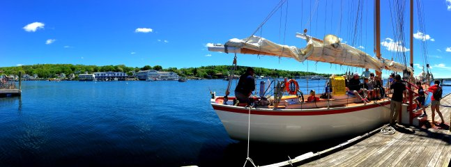 Day Sail on the Schooner Eastwind in Boothbay Harbor