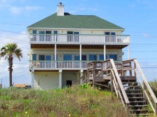 WINDYGATE - BEACHFRONT WITH GREAT BEACH VIEWS!, Galveston