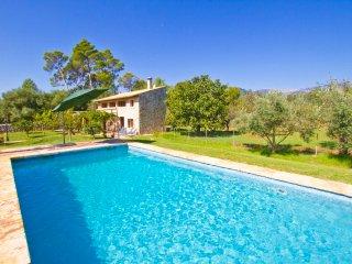 Biniamar - Casa de campo con piscina, Selva
