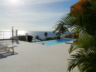 Villa luxe 5*,face à la mer,proche plages,piscine, Case-Pilote