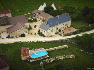 au coeur de 27 hectares, piscine et golf champêtre, La Roche-Posay