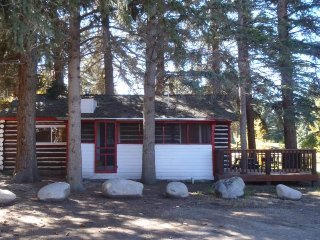 Charming 1 BR Log Cabin at Three Rivers Resort in Almont (#1)