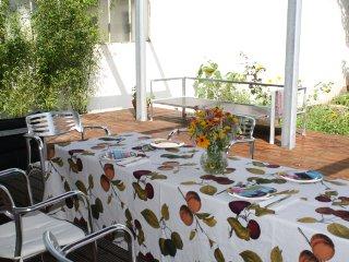 CHARMANTE 3ZIMMER-TERRASSENWOHNUNG(90+40QM)+Garten
