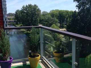 amazing apartment 88m2 with lovely terrace!, Nieuw-Amsterdam