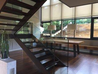 Casa de diseño individual de 500 m2 con piscina