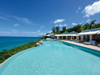 Luxurious 5 bedroom oceanfront Estate with breathtaking views, Terres Basses