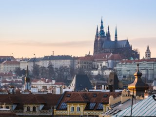 Prague Castle VIEW, Big Apart., Old town, apt. ROY, Praga