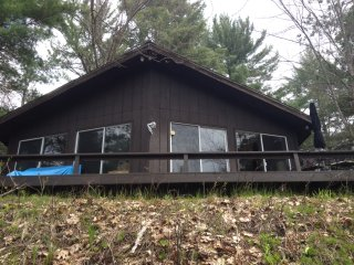 Little Manistee River house, Irons