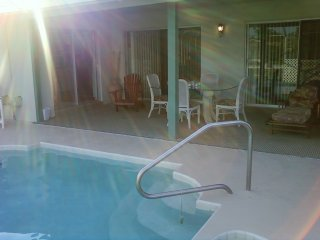 Fish in Our Salt Water Canal, Heated Pool, Jaccuzi, Palm Coast