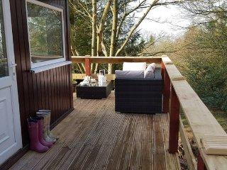 Beautiful Woodland Lodge in Shropshire