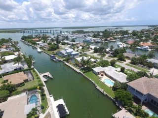 Spacious and inviting ...Updated waterfront home with direct boating