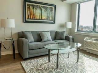 Furnished 2-Bedroom Apartment at Broad St & Summer St Providence