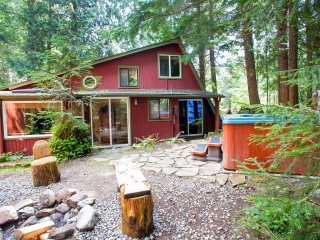 Award Winning Mt Rainier cabins sleeping 2 to 20