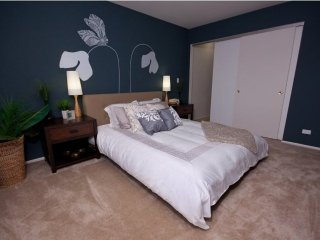 Furnished 1-Bedroom Apartment at W Higgins Rd & Grand Canyon Pkwy Hoffman Estates