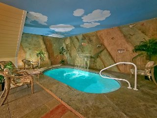 Private Indoor Pool Cabin - Sleeps 4, Sevierville