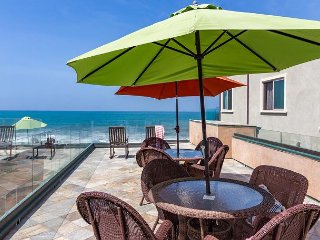 10br oceanfront home, rooftop decks, private spas, A/C Equipped