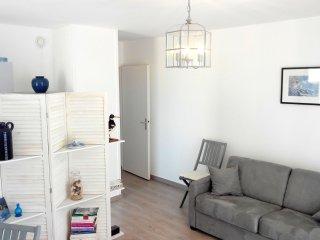 Nice 42m², balcony, garage, 50m beach, Le Croisic