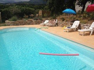 CORSE 2P NEUF - Piscine exclusive (juin & sept) 11X4 - jardin eclaire 4000M2