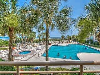 1101 Villamare-1st floor OCEANFRONT  villa overlooking pool/ocean., Hilton Head