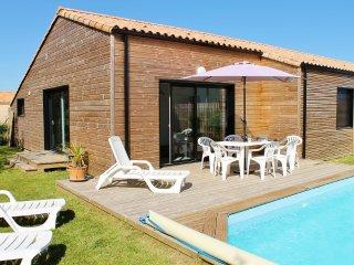 Proche golf villa piscine privée chauffée, Talmont-Saint-Hilaire