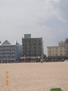 This is the view of the building from the ocean.