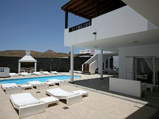 5 bedroom Villa in Puerto Calero, Canary Islands, Spain : ref 5031204