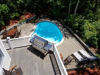 Waterfront Home with Heated Pool and Dock, Mashpee