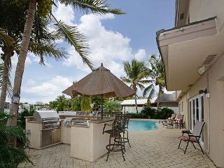 Pompano Beach Tropical Waterfront Home with Space for the Whole Family
