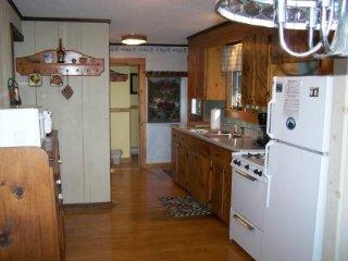 Kitchen - Rustic Cabin On Moosehead Lake