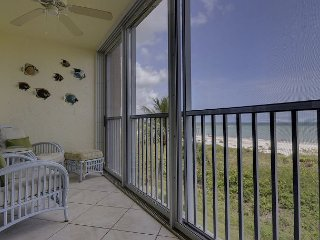 Surfside #122 - View Sunrises from bed! Closest Gulf Front w/Panoramic Views!, Sanibel Island