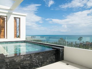 Luxury sea view apartment with private pool