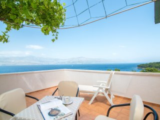 Apartments Ana & Bogdan - One Bedroom Apartment with Terrace and Sea View