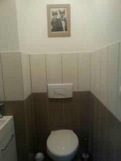 Toilettes séparées. ..Pour plus d'intimité