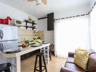 Cobá Rentals - Lovely Terrace Condo on 5th Avenue, Playa del Carmen
