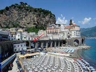 L'arco mare sul VISTA MARE 800mt ad Amalfi, Atrani