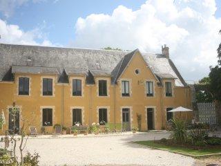 La maison jaune, Grandcamp-Maisy