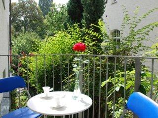 Wohnen im Zentrum mit Balkon