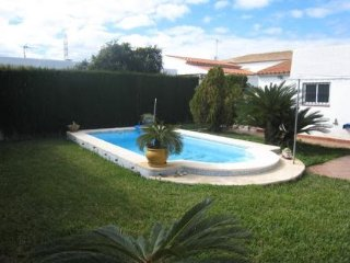 Fabulous villa with pool near beach, Oliva