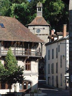 Chateldon son bourg médiéval
