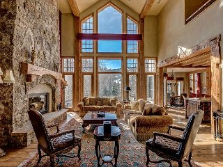 Elegant Beaver Creek Chateau with Private Hot Tub, Pool Table, Theater Screen