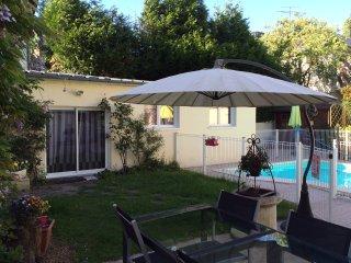 Studio 4* 2/4 pers avec piscine partagée, Rochecorbon